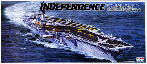 Arii-20 618202 USS Aircraft Carrier Independence 1/800 CV-62 Scale Kit (Microace)