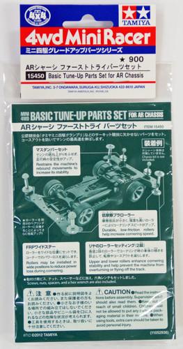 Tamiya 15450 Mini 4WD AR Chassis Basic Tune Set