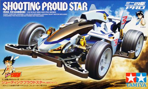 Tamiya 18641 Mini 4WD Shooting Proud Star (MA Chassis)