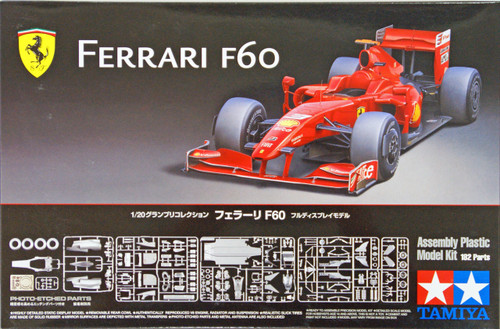 Tamiya 20059 Ferrari F60 with Photo Etched Parts 1/20 Scale Kit
