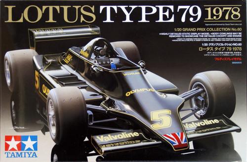 Tamiya 20060 Lotus Type 79 1978 1/20 Scale Kit