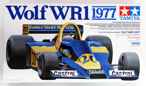 Tamiya 20064 Wolf WR1 1977 1/20 Scale Kit