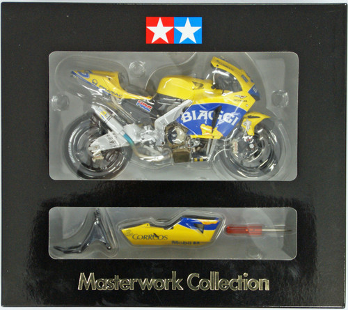 Tamiya 21017 Honda Pons RC211V 2003 Biaggi Masterwork Collection 1/12 Scale Kit