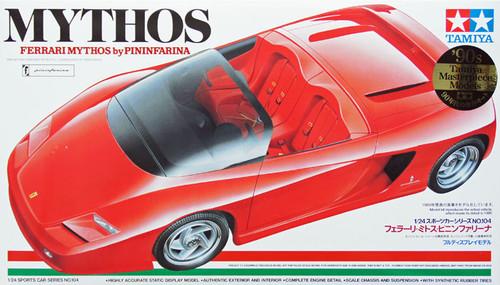 Tamiya 24104 Ferrari MYTHOS by Pininfarina 1/24 Scale Kit