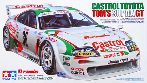 Tamiya 24163 Castrol Toyota Tom's Supra GT 1/24 Scale Kit