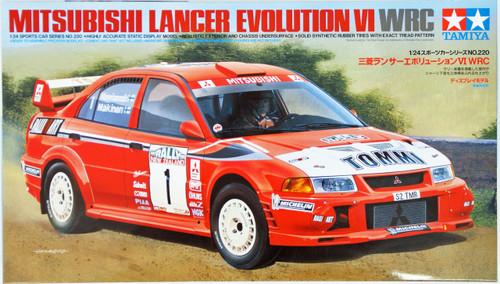 Tamiya 24220 Mitsubishi Lancer Evolution VI WRC 1/24 Scale Kit
