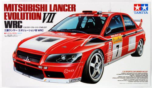Tamiya 24257 Mitsubishi Lancer Evolution VII WRC 1/24 Scale Kit