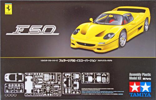 Tamiya 24297 Ferrari F50 Yellow Version 1/24 Scale Kit