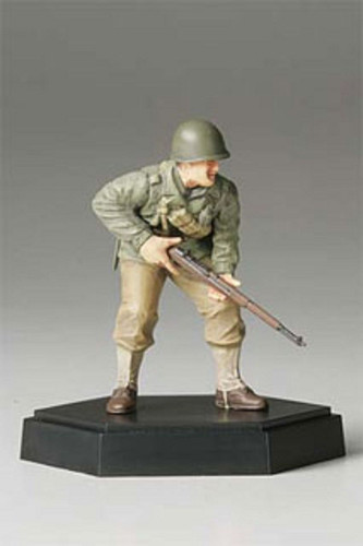 Tamiya 26008 Figure Collection U.S. Army Assault Inf. A Completed 1/35 Scale Kit