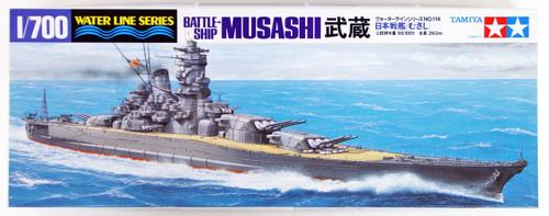 Tamiya 31114 IJN Japanese Battleship MUSASHI 1/700 Scale Kit