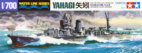 Tamiya 31315 IJN Japanese Light Cruiser YAHAGI 1/700 Scale Kit