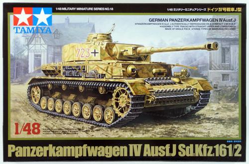 Tamiya 32518 German Panzerkampfwagen IV Ausf.J Sd.Kfz.161/2 1/48 Scale Kit