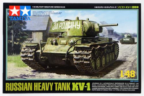Tamiya 32535 Russian Heavy Tank KV-1 1/48 Scale Kit