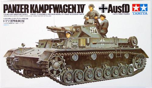 Tamiya 35096 German Panzer Kampfwagen IV Ausf.D 1/35 Scale Kit