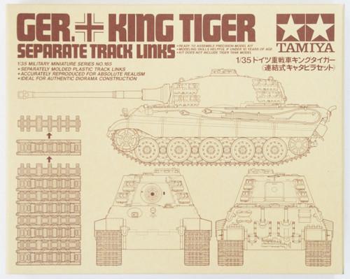 Tamiya 35165 German King Tiger Separate Track Links 1/35 Scale Kit