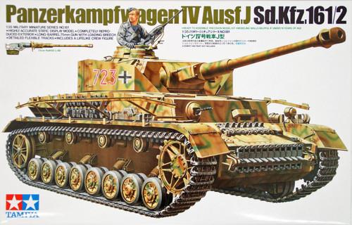 Tamiya 35181 German Panzerkampfwagen IV Ausf.J Sd.Kfz.16 1/2 1/35 Scale Kit