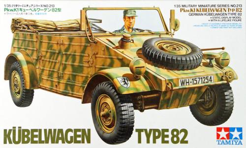 Tamiya 35213 German Kubelwagen Type 82 1/35 Scale Kit
