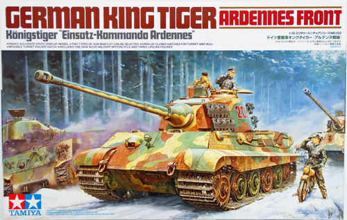Tamiya 35252 German King Tiger Ardennes Front  1/35 Scale Kit