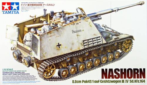 Tamiya 35335 German Self-Propelled Heavy Anti-Tank Gun Nashorn 1/35 Scale Kit
