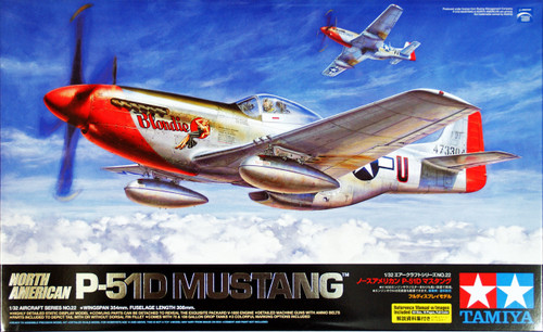 Tamiya 60322 North American P-51D Mustang 1/32 Scale Kit