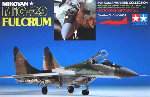 Tamiya 60704 Mikoyan MIG-29 Fulcrum 1/72 Kit