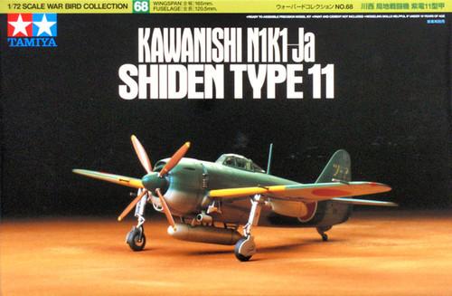 Tamiya 60768 KAWANISHI N1K1-Ja SHIDEN TYPE 11 1/72 Kit
