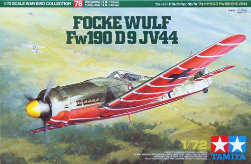 Tamiya 60778 Focke-Wulf Fw190 D-9 JV44 1/72 Kit