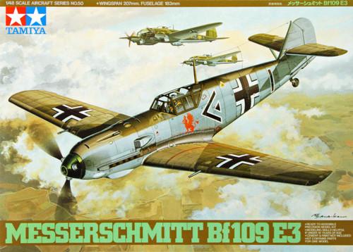 Tamiya 61050 Messerschmitt Bf109 E3 1/48 Scale Kit