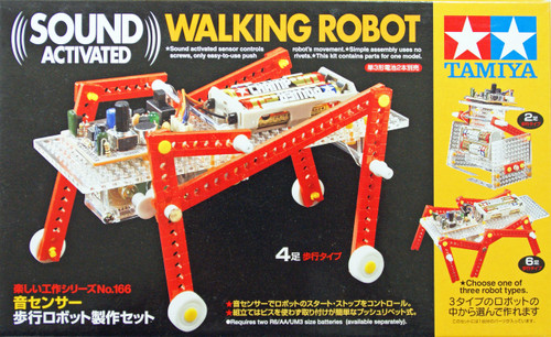 Tamiya 70166 Sound Activated Walking Robot