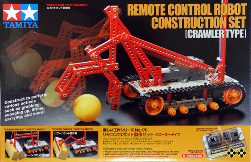 Tamiya 70170 Remote Control Robot Construction Set (Crawler Type)