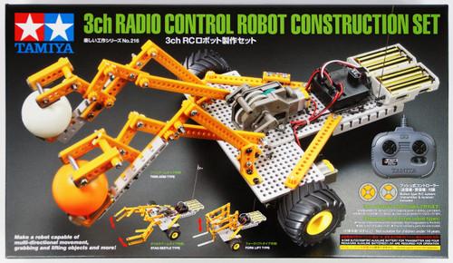 Tamiya 70216 3ch Radio Control Robot Construction Set