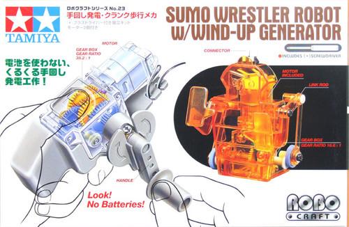 Tamiya 71123 Sumo Wrestler Robot W/Wind-Up Generator