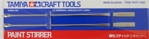 Tamiya 74017 Craft Tools - Paint Stirrer (2 pcs.)