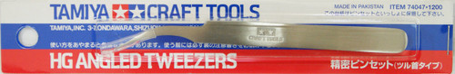 Tamiya 74047 Craft Tools - HG Angled Tweezers