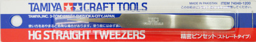 Tamiya 74048 Craft Tools - HG Straight Tweezers