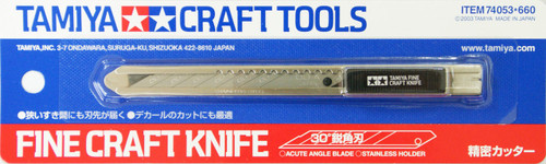 Tamiya 74053 Craft Tools - Fine Craft Knife