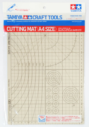 Tamiya 74056 Craft Tools - Cutting Mat (A4 Size)
