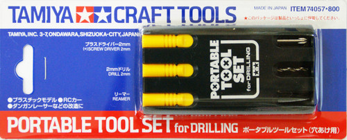 Tamiya 74057 Craft Tools - Portable Tools Set for Drilling