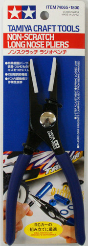 Tamiya 74065 Craft Tools - Non-Scratch Long Nose Pliers