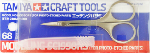 Tamiya 74068 Craft Tools - Modeling Scissors (For Photo Etched Parts)