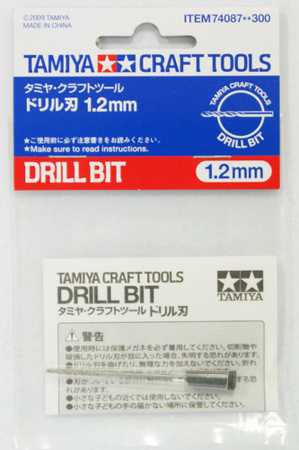 Tamiya 74087 Craft Tools - Drill Bit 1.2mm