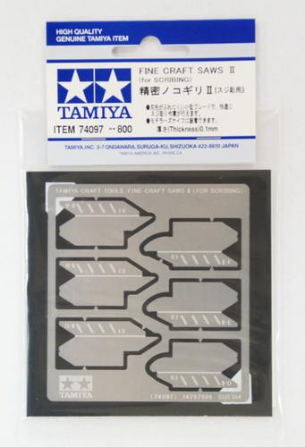 Tamiya 74097 Craft Tools - Fine Craft Saws II for Scribing