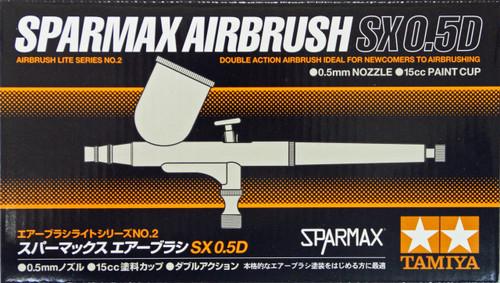 Tamiya 74802 Sparmax Airbrush SX 0.5D (0.5mm nozzle)