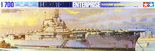 Tamiya 77514 US Aircraft Carrier ENTERPRISE 1/700 Scale Kit