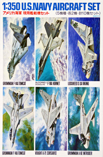 Tamiya 78006 US Navy Aircraft Set No. 1 1/350 Scale Kit
