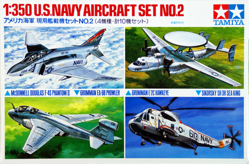 Tamiya 78009 US Navy Aircraft Set No. 2 1/350 Scale Kit