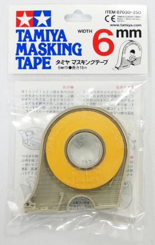 Tamiya 87030 Masking Tape 6mm width with Dispenser (18m)