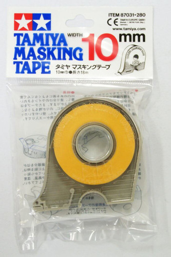 Tamiya 87031 Masking Tape 10mm width with Dispenser (18m)