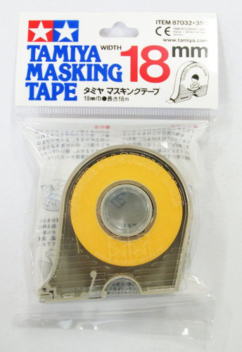 Tamiya 87032 Masking Tape 18mm width with Dispenser (18m)
