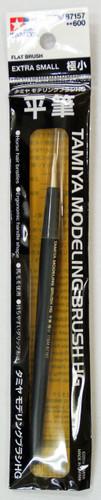 Tamiya 87157 Modeling Brush HG (Flat Brush) Extra Small